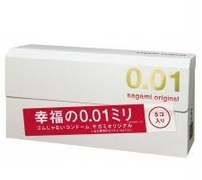 Презервативы Sagami Original 0.01, 5 шт.