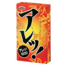 Презервативы Sagami №5 Super Dots One Stage 1шт